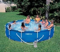 Каркасный бассейн Intex 56999 Metal Frame Pool